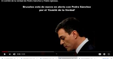 El comité de la verdad de Pedro Sánchez y de Pablo Iglesias.