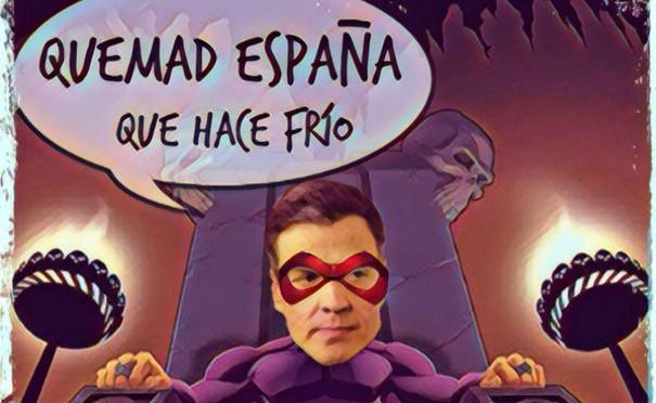En qué manos estamos, quemad España