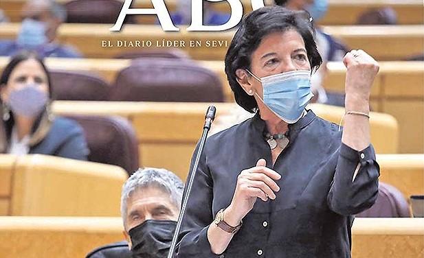 Esta es la portada de ABC de Sevilla de hoy miércoles, 4 de noviembre de 2020