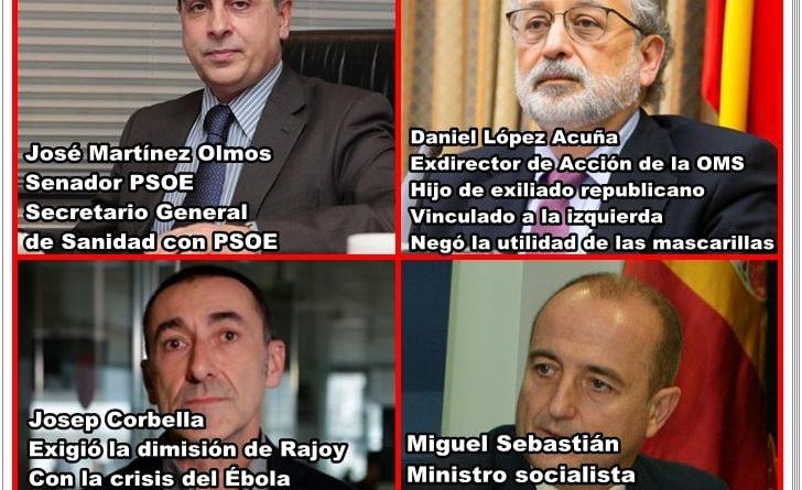 Los expertos de La Sexta desde los comienzos de la  crisis del COVID19.
