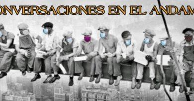 """Conversaciones en el andamio. Hoy la """"seña"""" Almudena"""