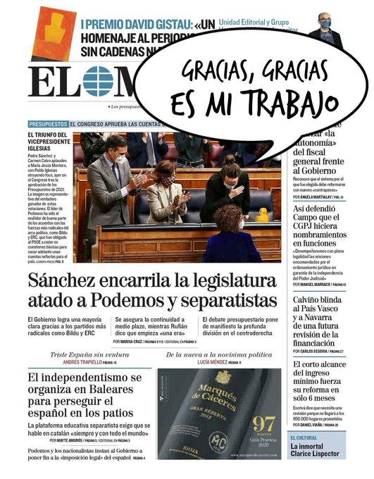 Aprobados los presupuestos contra España y su clase media. Por Linda Galmor