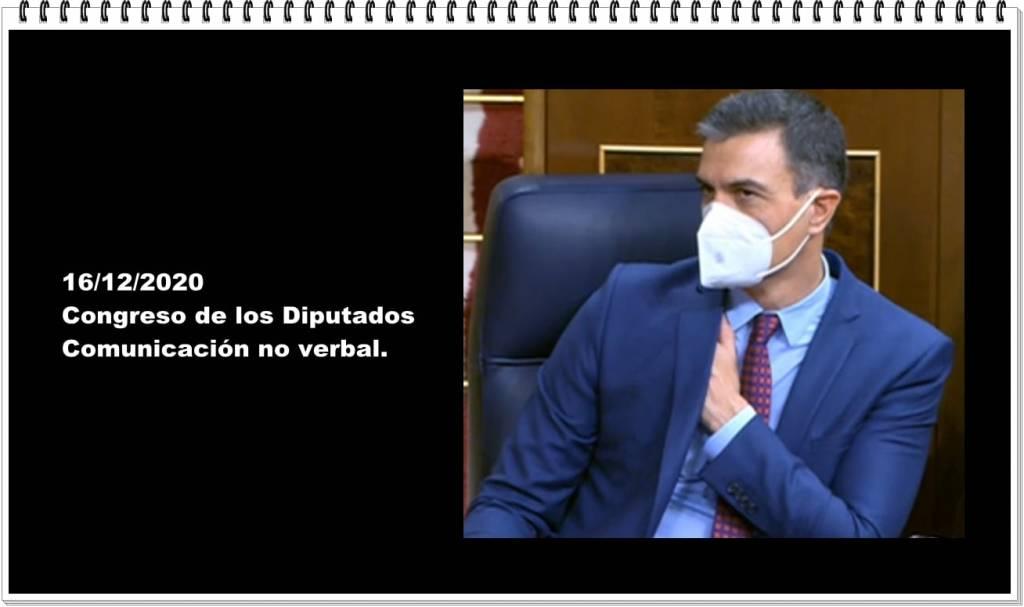 Comunicación no verbal en el Congreso de los Diputados