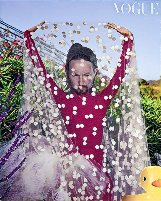 Después de que Ireno luciera en las revistas, ahora toca que Pablo Manué nos muestre su arte: Por Linda Galmor
