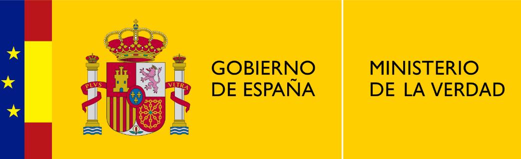 Gobierno de España. Ministerio de la verdad