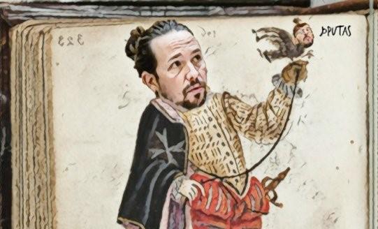 HRH The Prince of Walapagar gusta de la cetrería