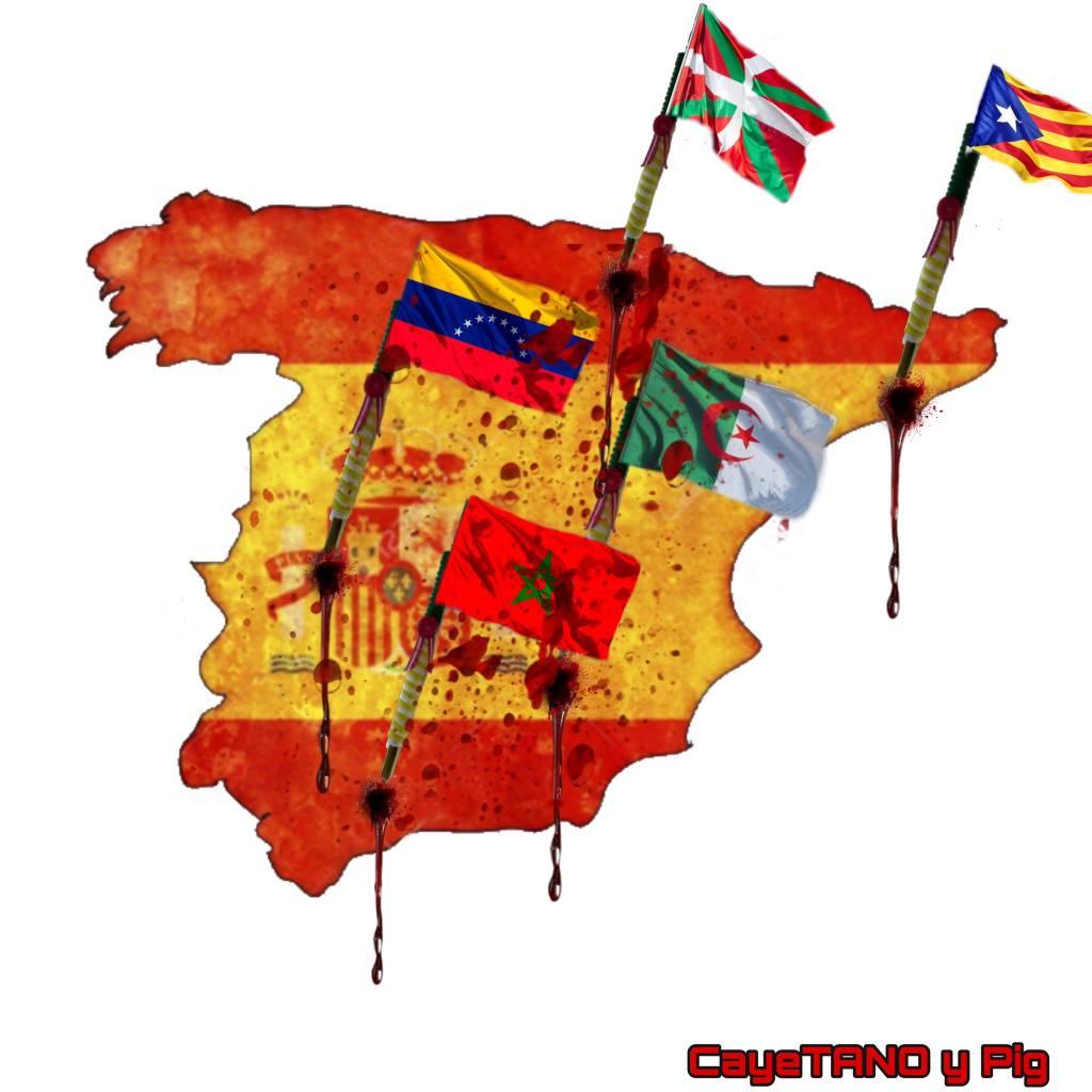 Han conseguido convertir un país fuerte en débil, un país orgulloso en uno acobardado. Ilustración de Tano