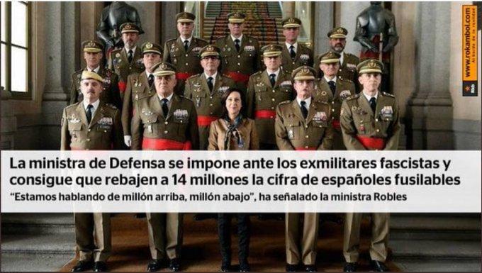 La Robles y el último bastión que le queda a España