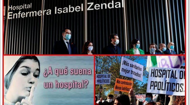 La izquierda mentía con que los madrileños tendrían que ir a los hospitales con la VISA en la boca