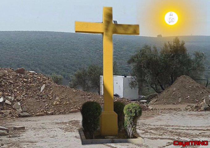 La Cruz sobrevivirá. Ilustración de Tano