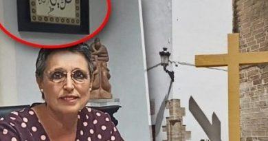 Carmen Flores, Alcaldesa de IU que ordeno