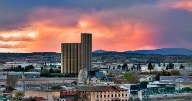 Del precio de las cosas, el almacenamiento y el intervencionismo. En imagen el silo de Guadalajara