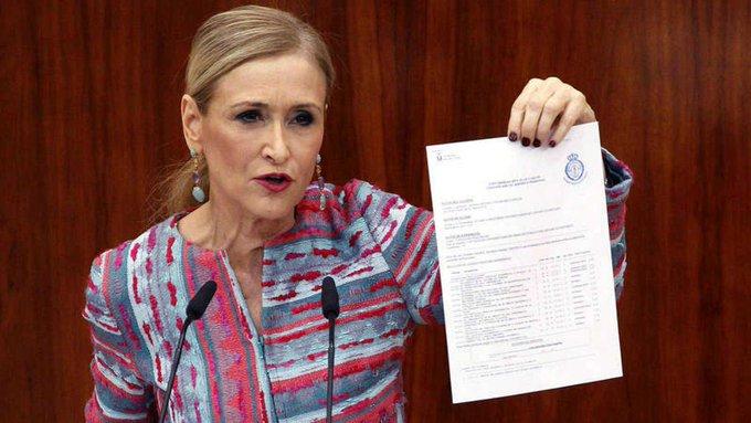 Cristina Cifuentes ¿Manzana podrida o punta del iceberg?