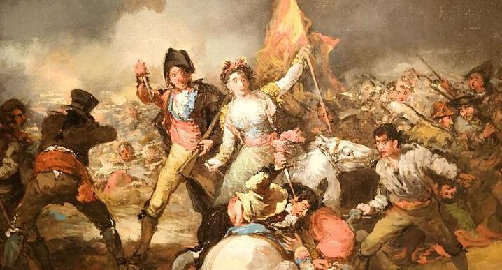 El 2 de Mayo, de Eugenio Lucas Velázquez. Está expuesto en el Museo de Bellas Artes de Budapest, Hungría
