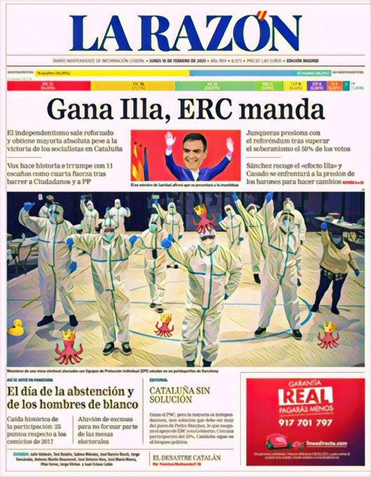 El mundo flipa con España por unas elecciones con epi. Por Linda Galmor