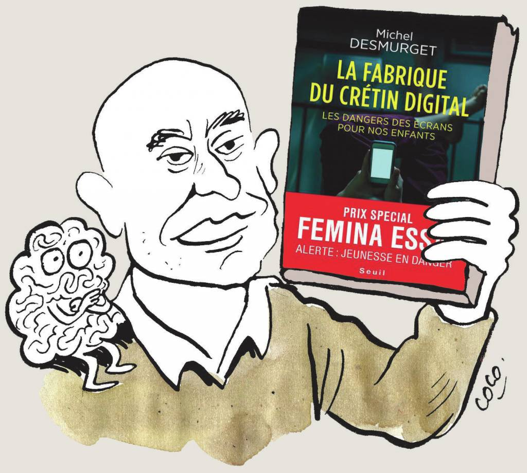 Las pantallas y el desarrollo intelectual. Michel Desmurget y su libro según Charlie Hebdo.