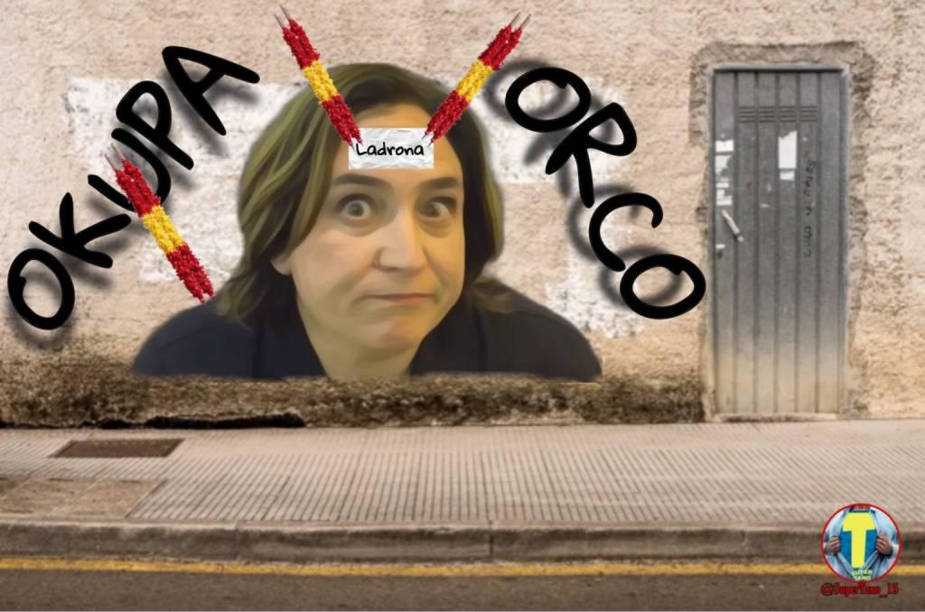 Los espectros y fantasmas ya los tenemos en esta España de opereta bufa. Ilustración de Tano