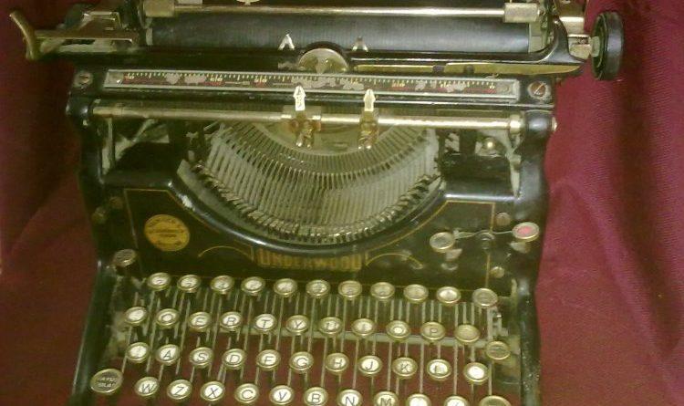 Se cambia Underwood o la lentitud de escribir