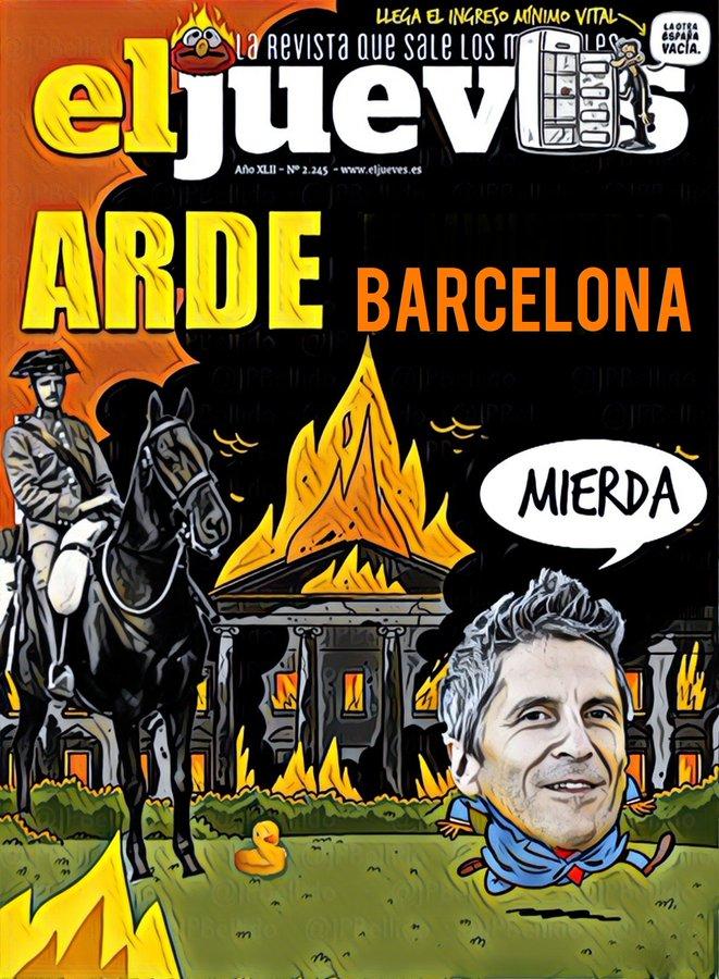 Arde Barcelona y los políticos no dejan hacer a la policía. Por Linda Galmor