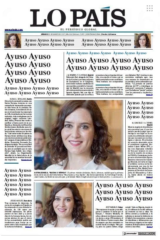 El País de Barroso más cerca de su sueño, el círculo se cierra.