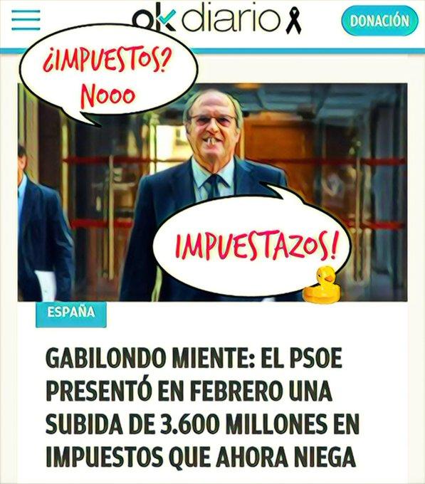 Gabilondo dice que no pactará con Podemos y que no subirá impuestos. Por Linda Galmor
