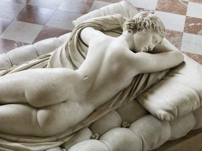 Hermafrodita Durmiente de Bernini