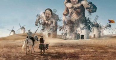 Hoy quiero hablar del Quijote. Ilustración de Tano