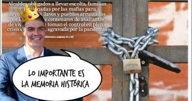 Lo importante es la memoria histórica