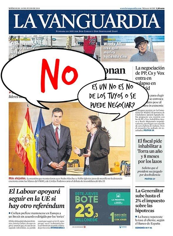 Pablo Manué quería La Mareta en Agosto y se acabó... Por Linda Galmor