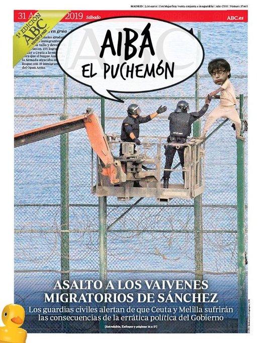 Sorpresa en la valla de Melilla. Por Linda Galmor