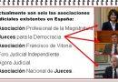 ¿A cual de estas asociaciones judiciales pertenece el juez que considera que Toni Cantó y Agustín Conde no cumplían los requisitos como candidatos? Por Rafael Gómez de Marcos
