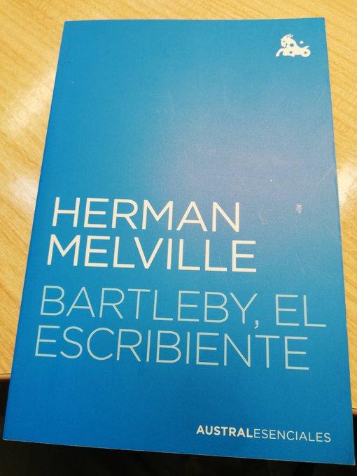 Herman Melville: Bartleby, el escribiente