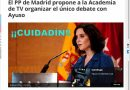 Cuidadín con la Academia de TV y su Sexta Junta Directiva señora presidente. Por Rafael Gómez de Marcos