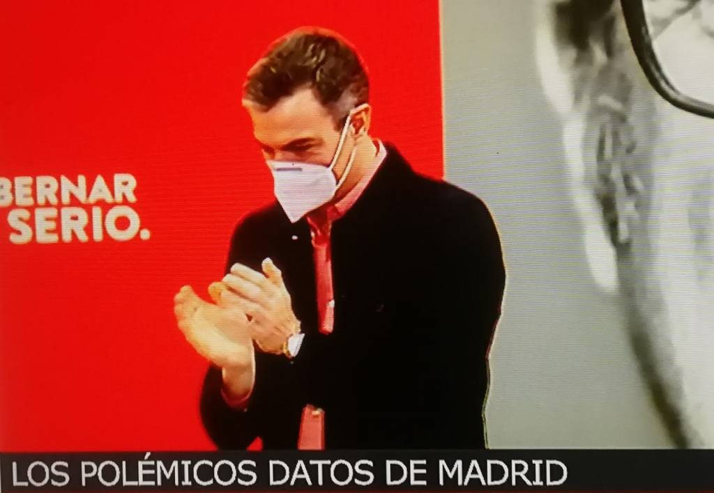 Sánchez y su banda no desgobiernan España, la contra gobiernan.