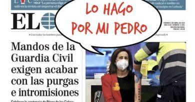 Margarita le echa güevos y se pone la vacuna de TromboZeneca