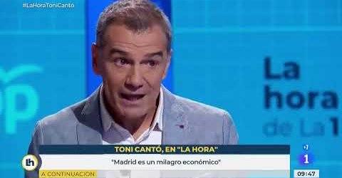 Mis felicitaciones señor Cantó