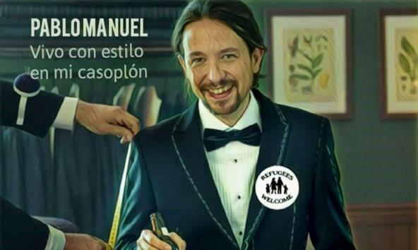 Pablo Manué se autocorona líder de los pobres, como si fueran gili