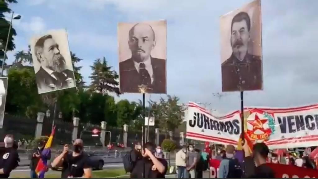 Parece lejano pero está más cerca que nunca aquel 21 de febrero de 1936, Manifestación en Madrid del 14 de abril de 2021