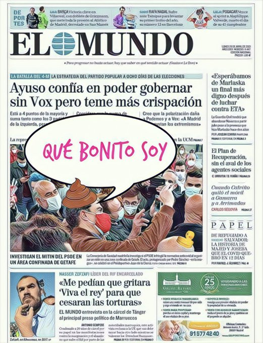 Pedro Bello activa a sus ministros para ayudar a Gabilondo en la campaña madrileña. Por Linda Galmor