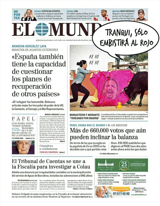 Podemos está cerca de quedarse sin representación en la Asamblea de Madrid. Por Linda Galmor