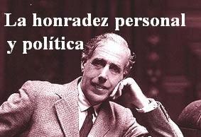 Reordemos hoy la hoinradez personal en la política de Julián Besteiro.