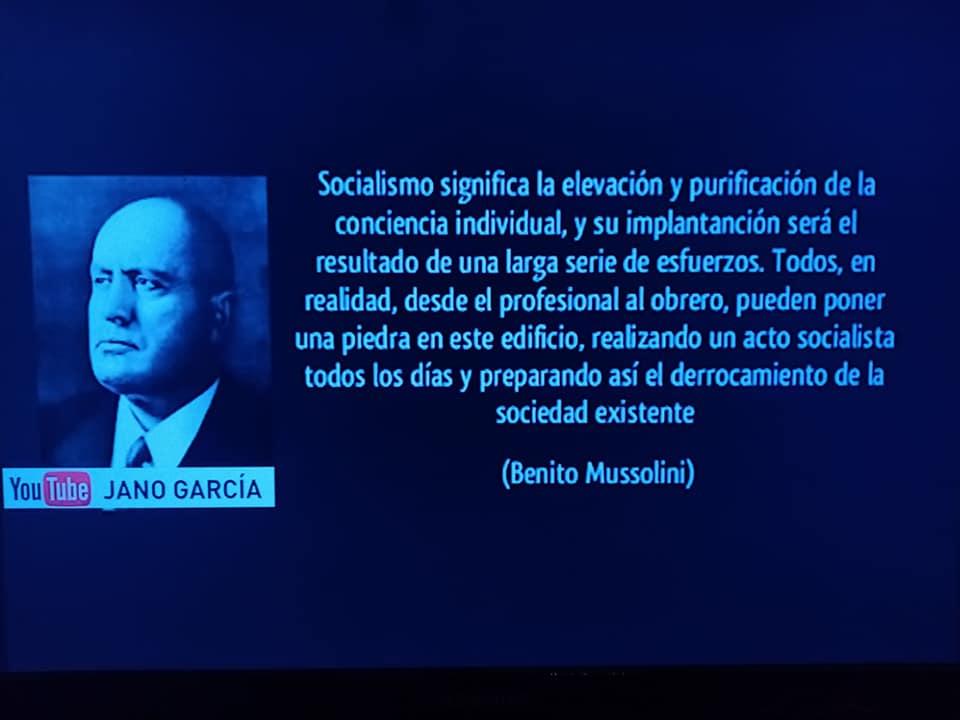 fascismo y socialismo