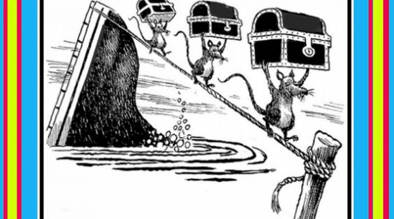 Cuando el barco se hunde...