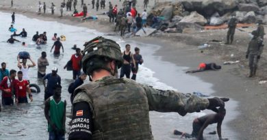 El felón sigue llamando crisis humanitaria a la invasión