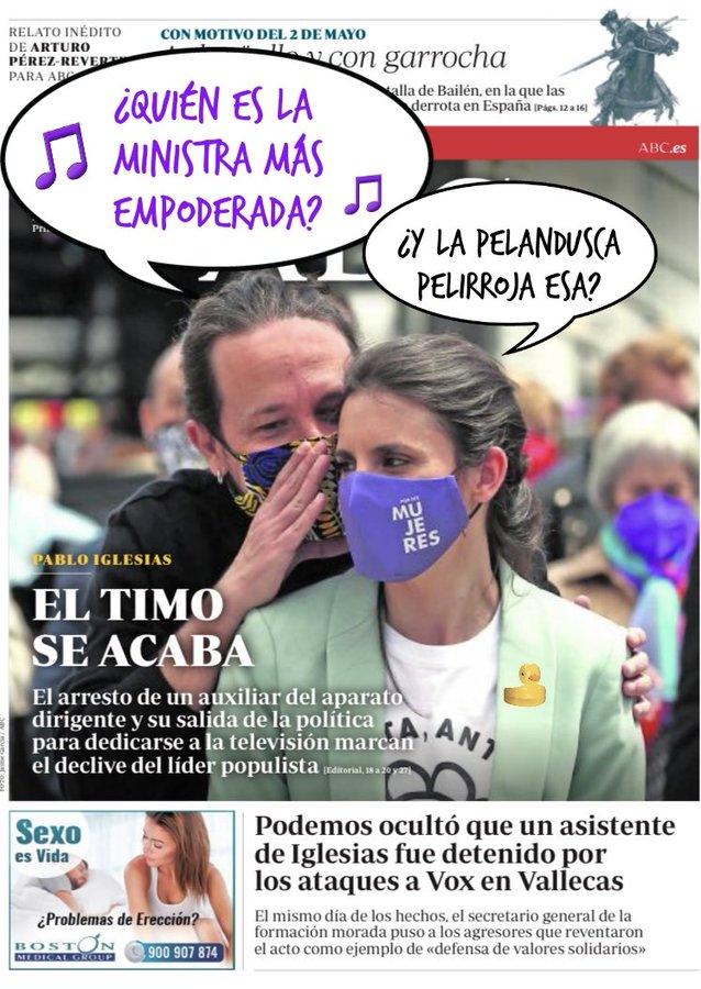 Interior ocultó que fueron detenidos asistentes de Pablo Manué por reventar el mitin de vox en Vallecas. Por Linda Galmor