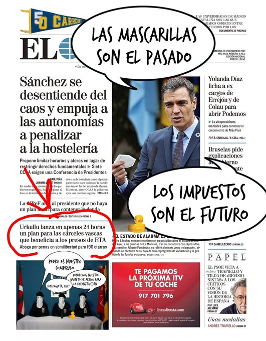 Jugada maestra de Sánchez para veranear en palacio a costa de todos los españoles. Por Linda Galmor