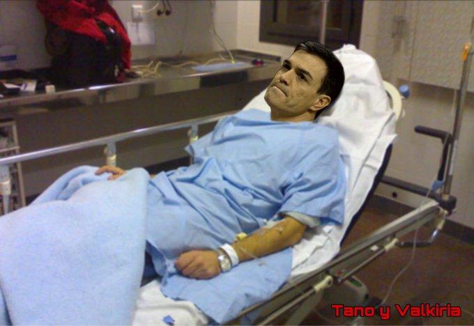 La única extrapolación que los madrileños queremos es que Sánchez se vaya. Ilustración de Tano y Walkiria