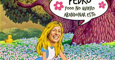 Los mundos de Yupi: El Cum Fraude y la Bego en Wonderland. Ilustración de Linda Galmor