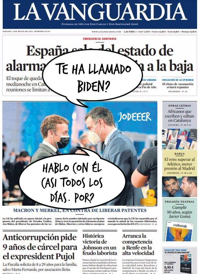 Sánchez es ninguneado por el tabernario pueblo de Madrid. Por Linda Galmor