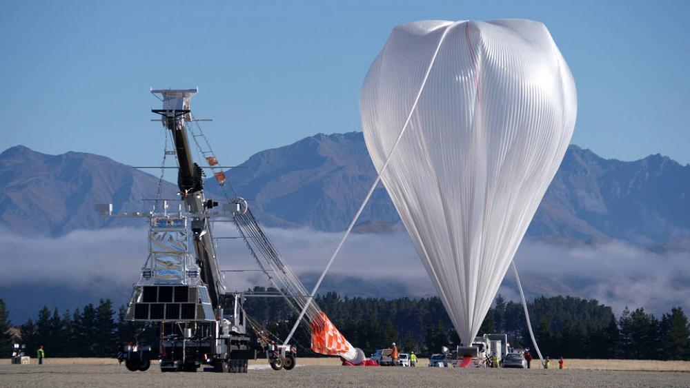 SCoPEX pretende dispersar Carbonato Cálcico en la Estratosfera mediante un globo provisto de ventiladores
